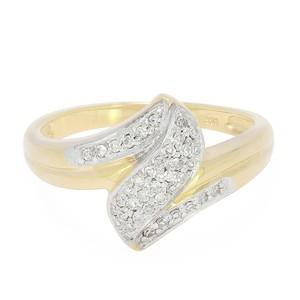 Anillo de oro con diamantes - Juwelo