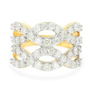 Anillo de diamantes en Juwelo
