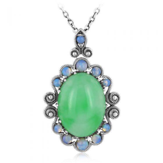 Joyas con jade