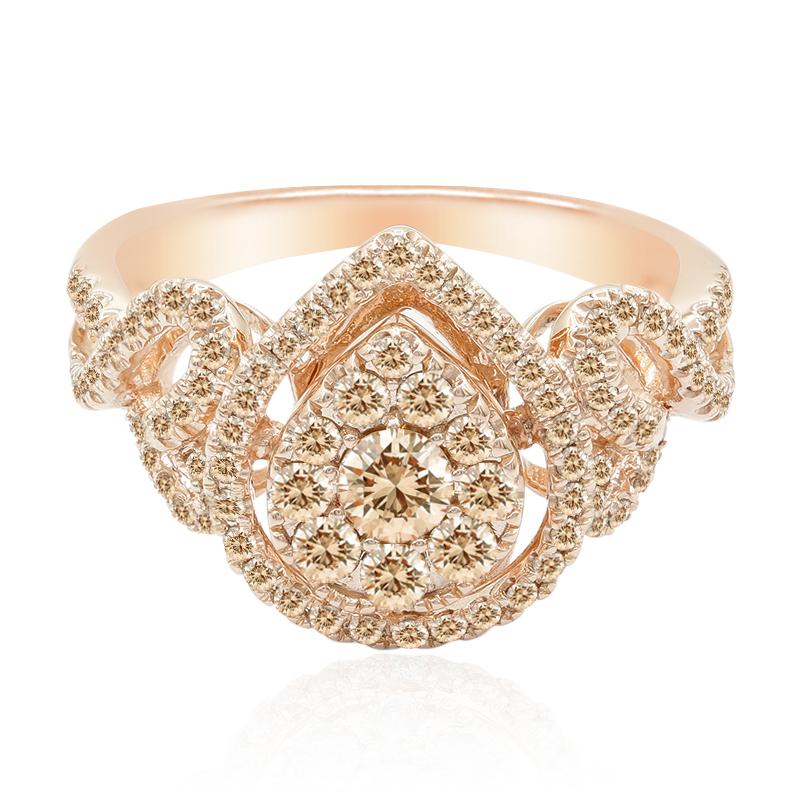 anillos con diamantes
