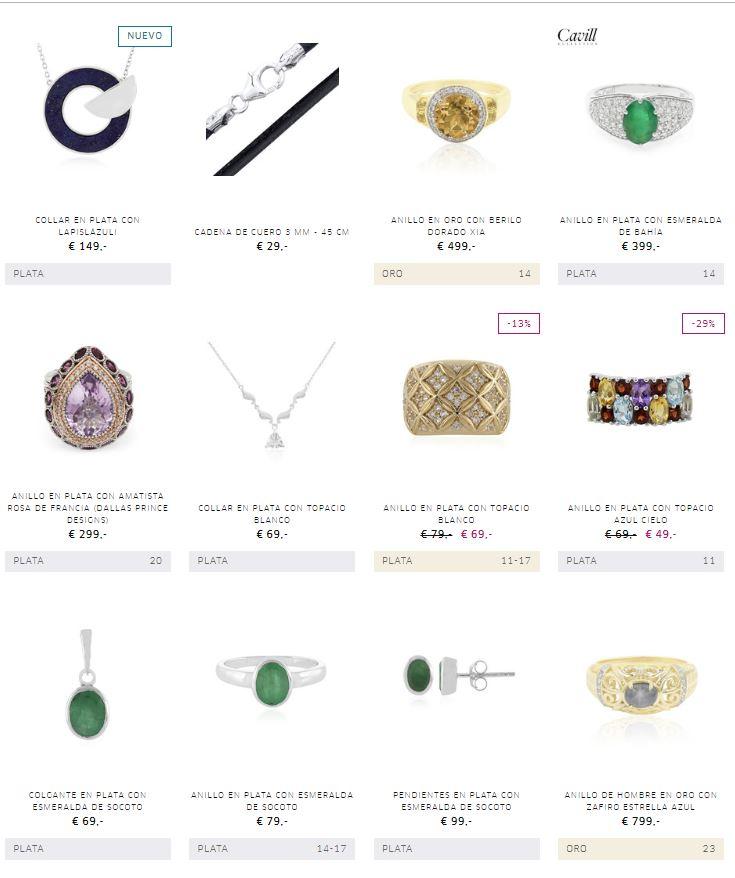 joyas online a buen precio