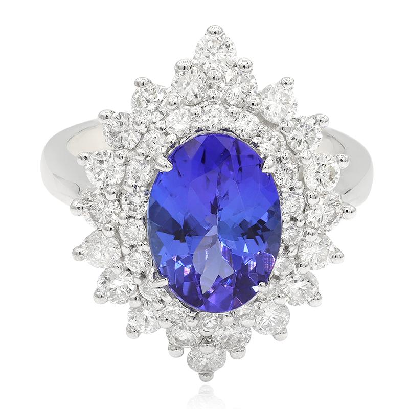 anillos online con piedras azules