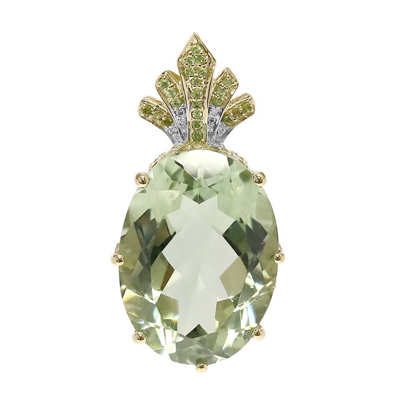 joyas amatista verde